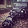 Детский электромобиль Mercedes G63 (кожаный салон)