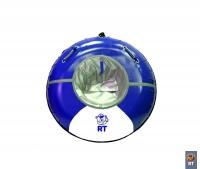 "Санки надувные ""Тюбинг RT 9"" Deluxe верх-ПВХ диаметр 92 см"